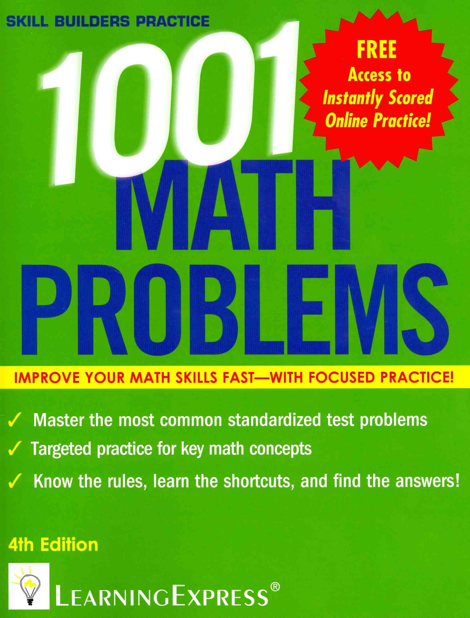1,001 Math Problems By Learningexpress Llc (COR)
